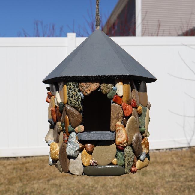 How To Build A Stone Birdhouse