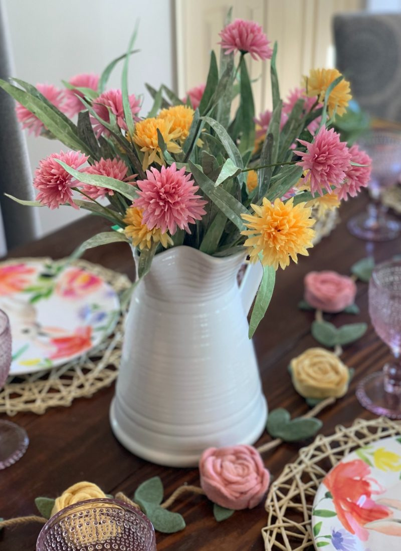 How To Set An Easter Table
