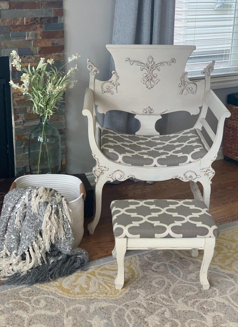 My Chalk Painted Chair