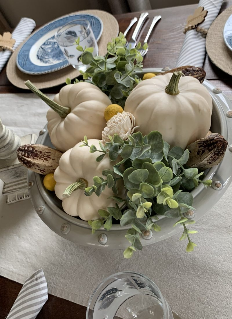 An Easy Fall Table On My Mind