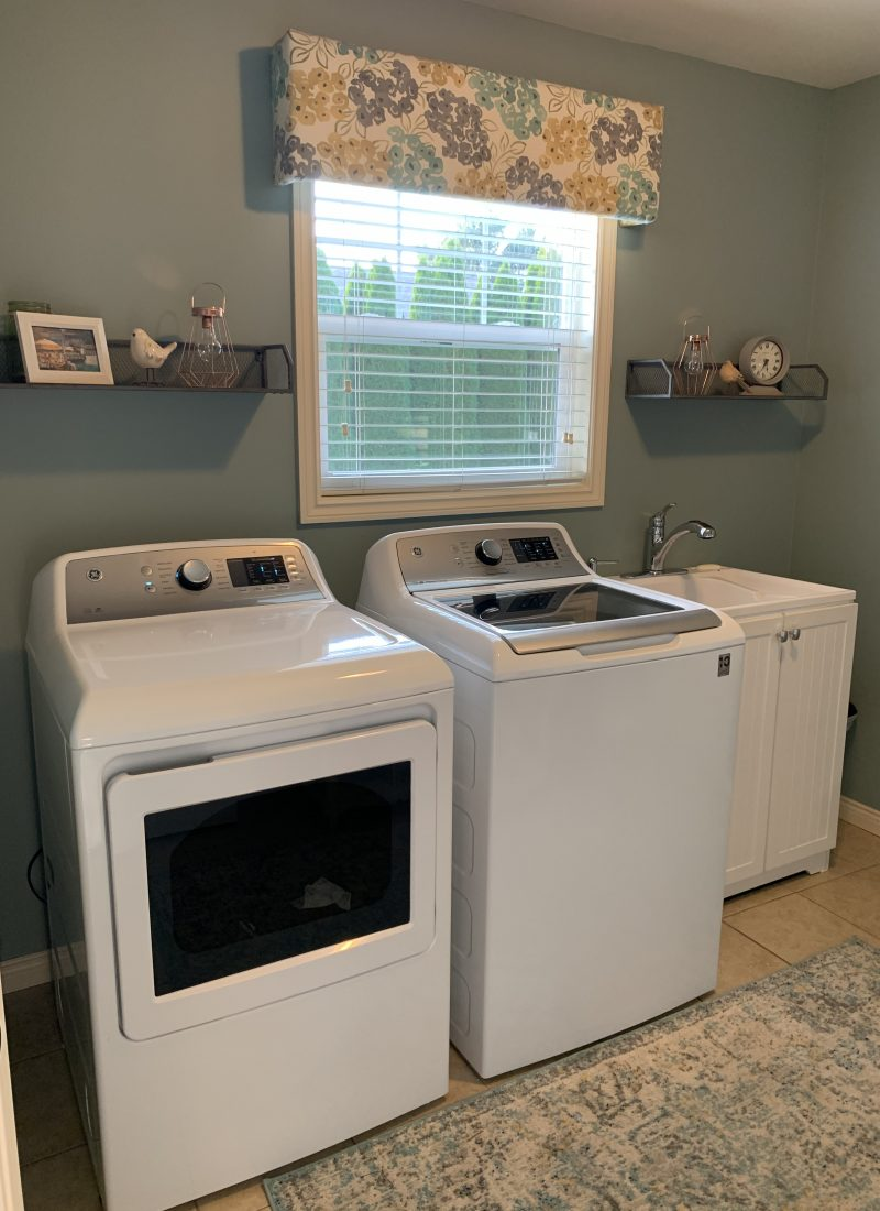 An Easy Laundry Room Update