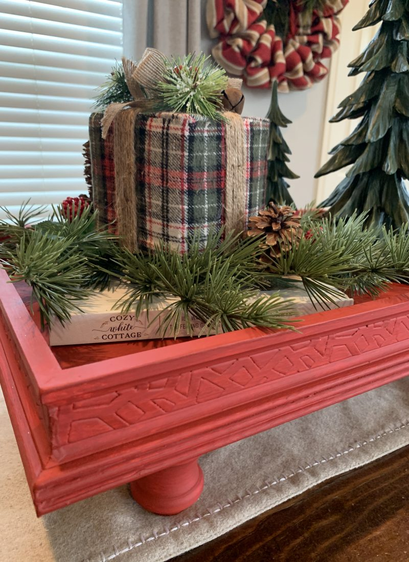 How To Make A Footed Tray