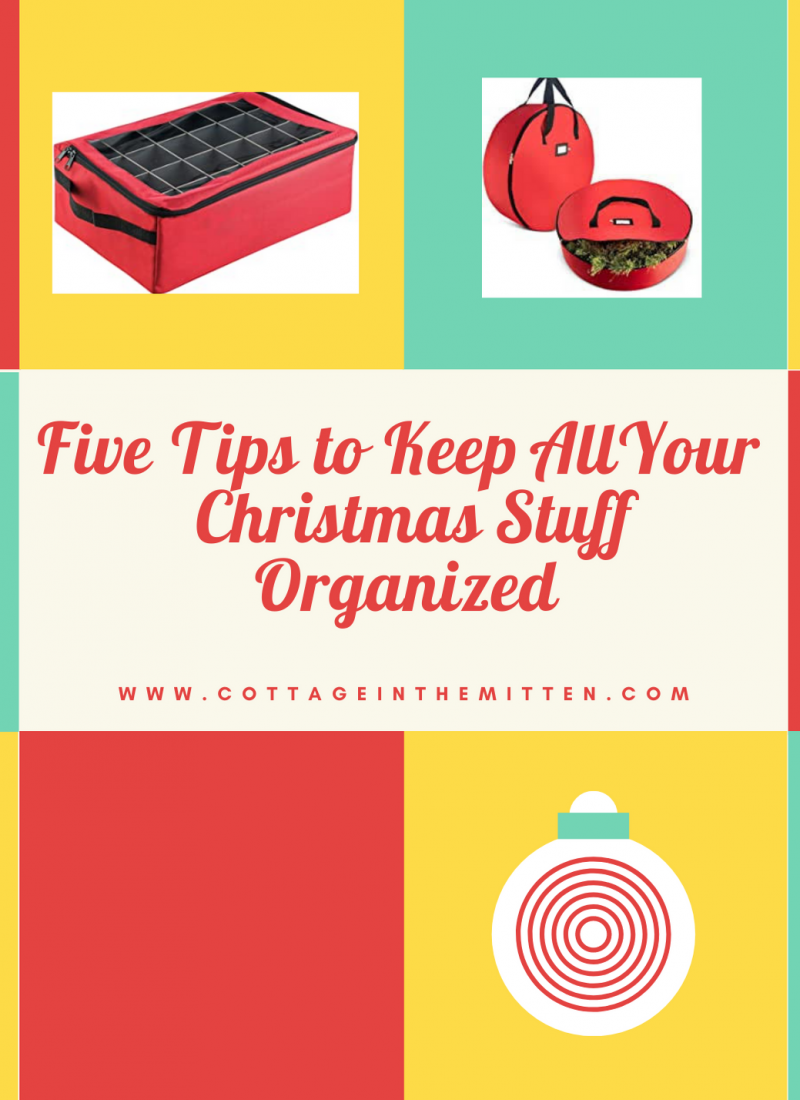 Five Must Haves for Keeping the Holiday Season Organized